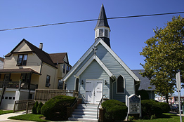 St. Johns by the Sea R.E. Church - Sacramento & Ventnor Avenues