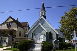 St. Johns by the Sea R.E. Church - Sacramento & Ventnor Avenues